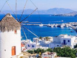Mykonos - grecka wyspa uwielbiana przez gwiazdy